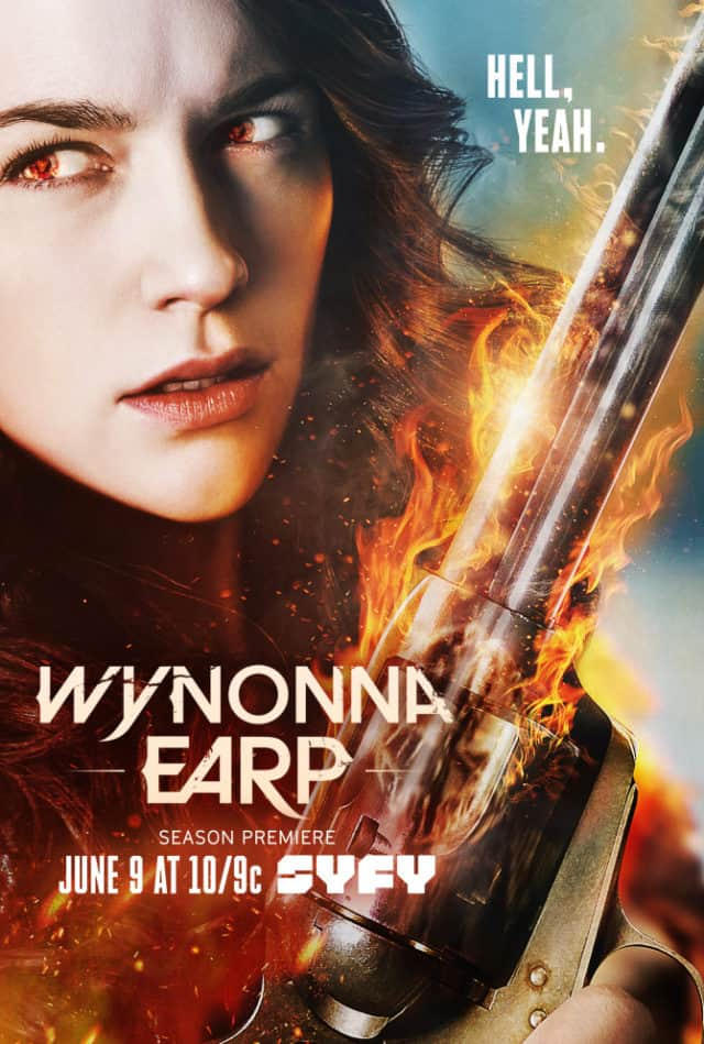 Wynonna Earp Season 2 poster 1. Wynonna Earp returns.