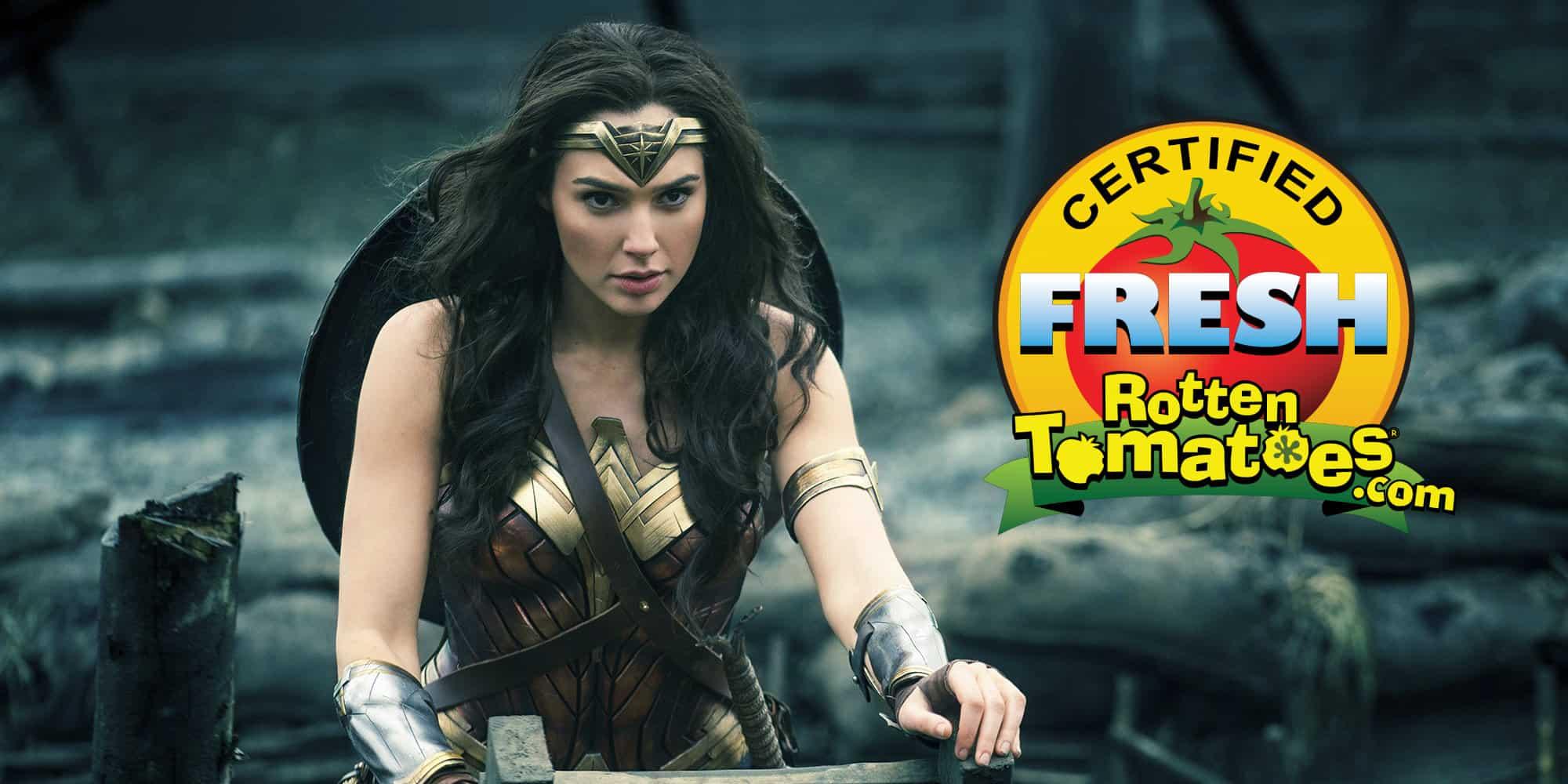 Positive Wonder Woman Review Allegedly Prove Critics\' Anti-DC Bias?