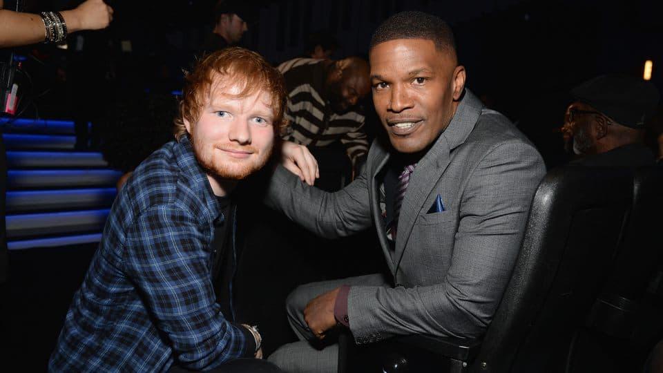 How Jamie Foxx Helped Launch Ed Sheeran's Career