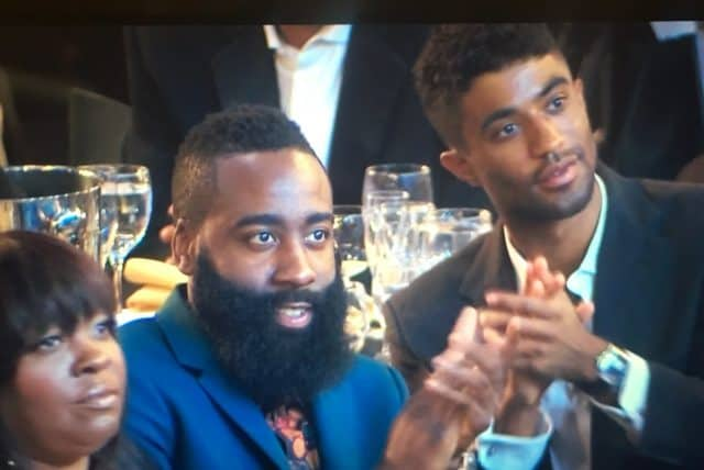 2e9fd8746ce0 James Harden Looking at Nicki Minaj is Where His Defensive Intensity Needs  to Be
