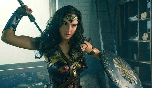 Gal Gadot as Wonder Woman 2017