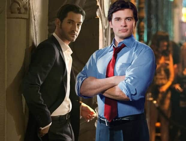 Tom Welling on Lucifer and DC Comics Legacy Casting