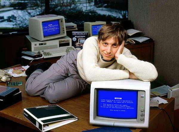 Young Bill Gates Hilariously Gets the Photoshop Treatment