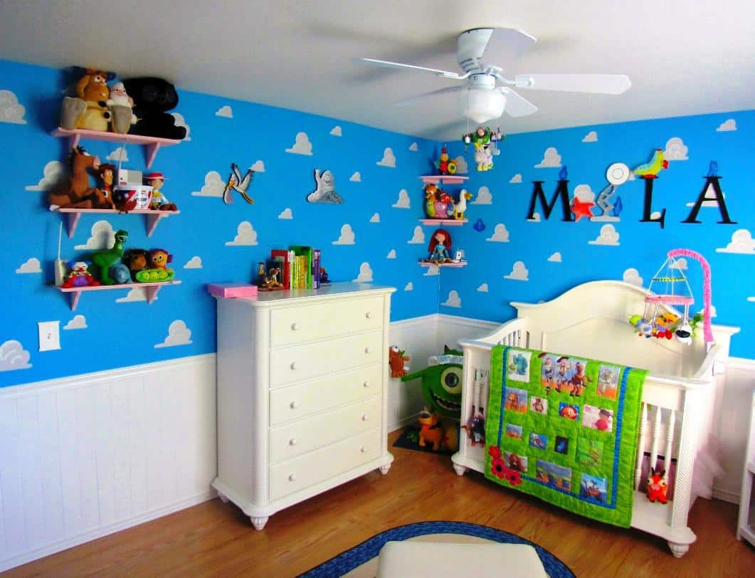 Finding Nemo Themed Baby Room