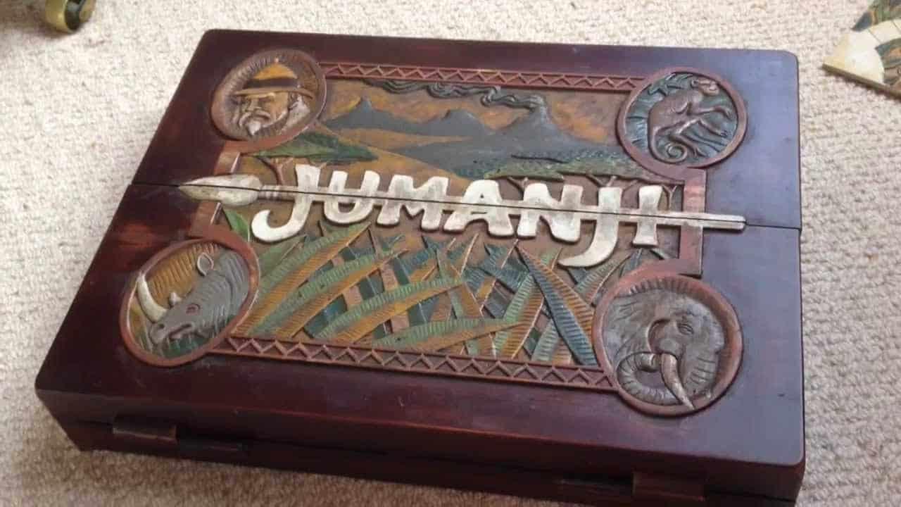 Guy Makes Amazing Repl... Jumanji Board Game