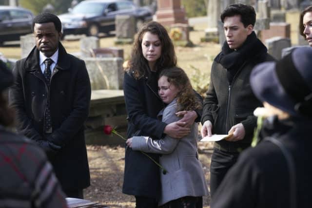 Orphan Black 5x09 Mrs S funeral