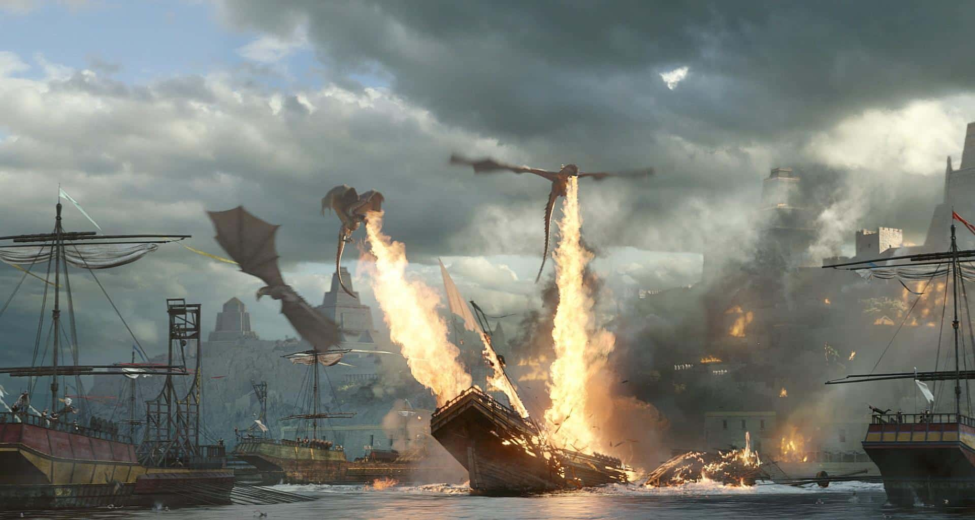 Game Of Thrones' Amazing Battle Sequence, But Without All