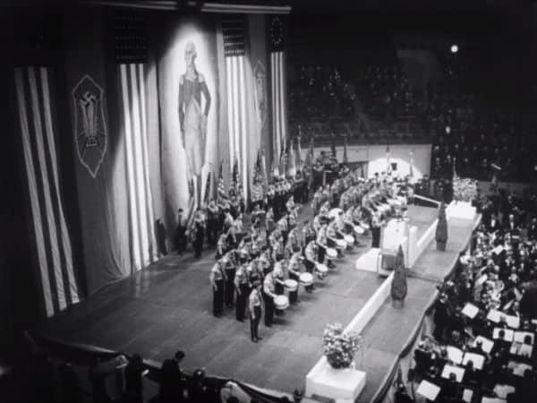 A night at the garden disturbing 1939 nazi rally held at - Madison square garden nazi rally ...