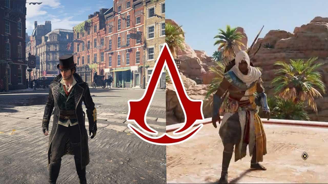 Assassin S Creed Origins Vs Syndicate