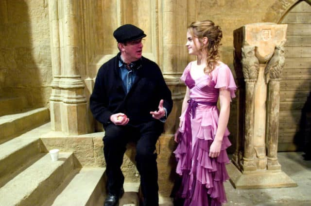Harry Potter And The Goblet Of Fire Behind The Scenes Photos