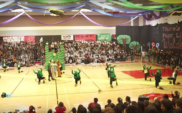 High School Dance Team Impresses With Wizard Of Oz And Pixar Themed