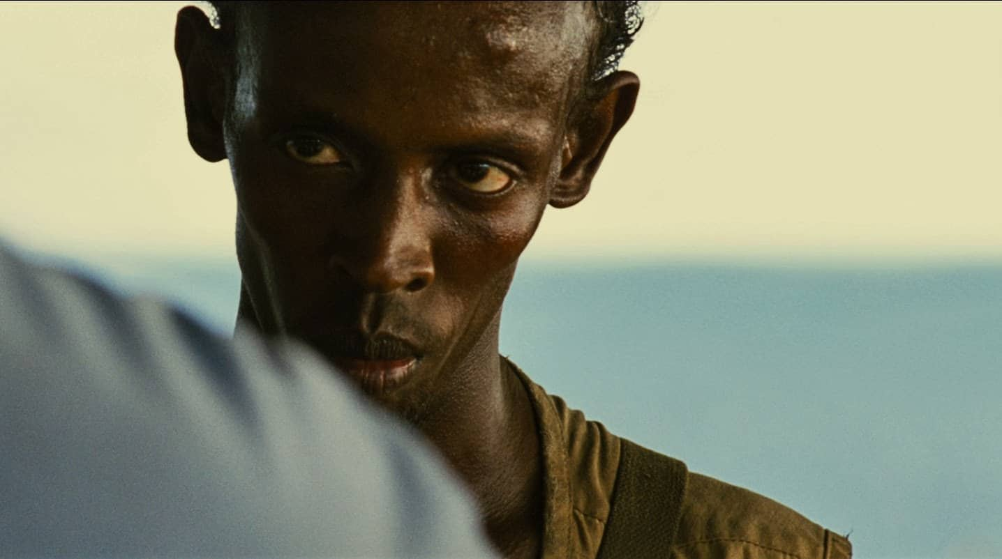 the most famous line in captain phillips was improvised