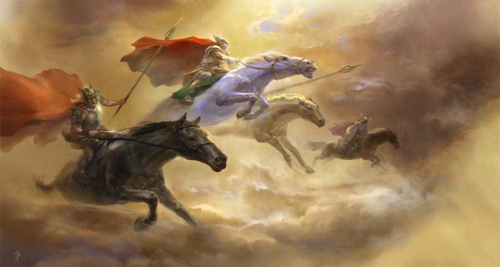richard wagner ride valkyries