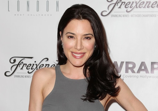Jaime Murray at the Wrap Premiere