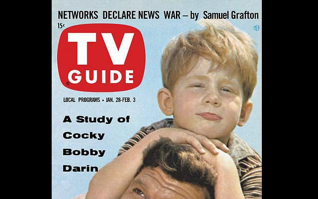 Ron Howard on the cover of TV Guide, 1/28/61