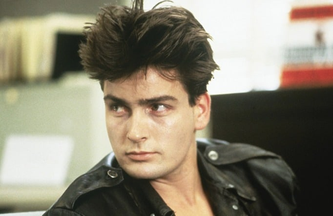 How charlie sheen got that drugged look in ferris buellers day of thecheapjerseys Choice Image