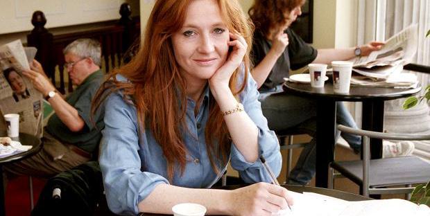 Young JK Rowling