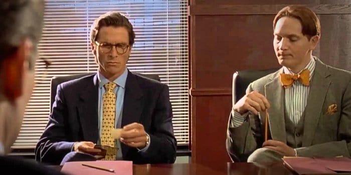 Breaking down the american psycho business card scene colourmoves