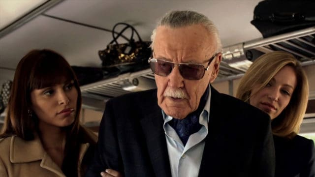 Image result for stan lee cameo marvels agent of shield gif