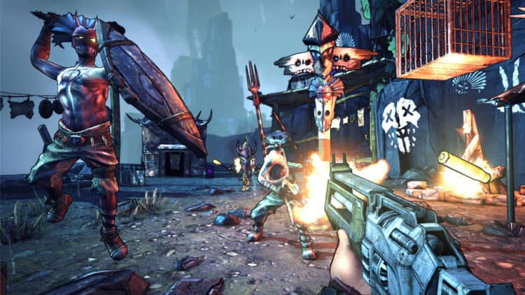 The Top Five Characters from Borderlands 2