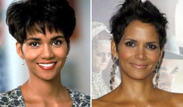 How Halle Berry S Hairstyle Has Evolved Since The Movie