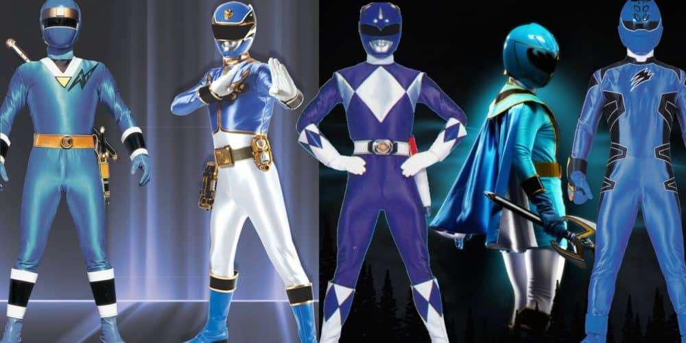 The five best blue power rangers of all time - Power rangers a colorier ...