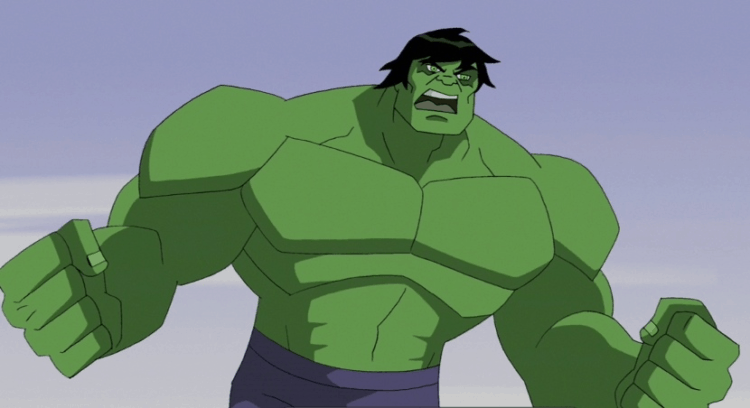 Shouldn't There Be an Incredible Hulk Cartoon on Today?