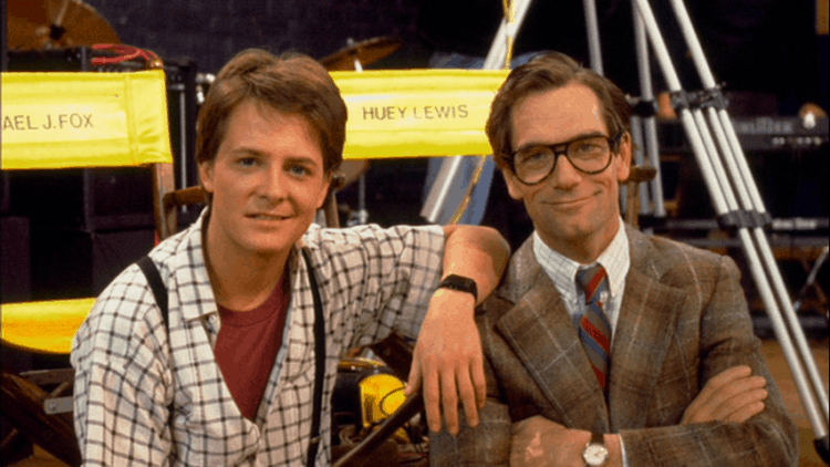 huey lewis back in time