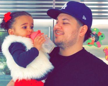 Rob Kardashian and his Daughter