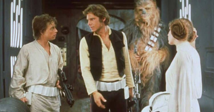 Star Wars Screen test