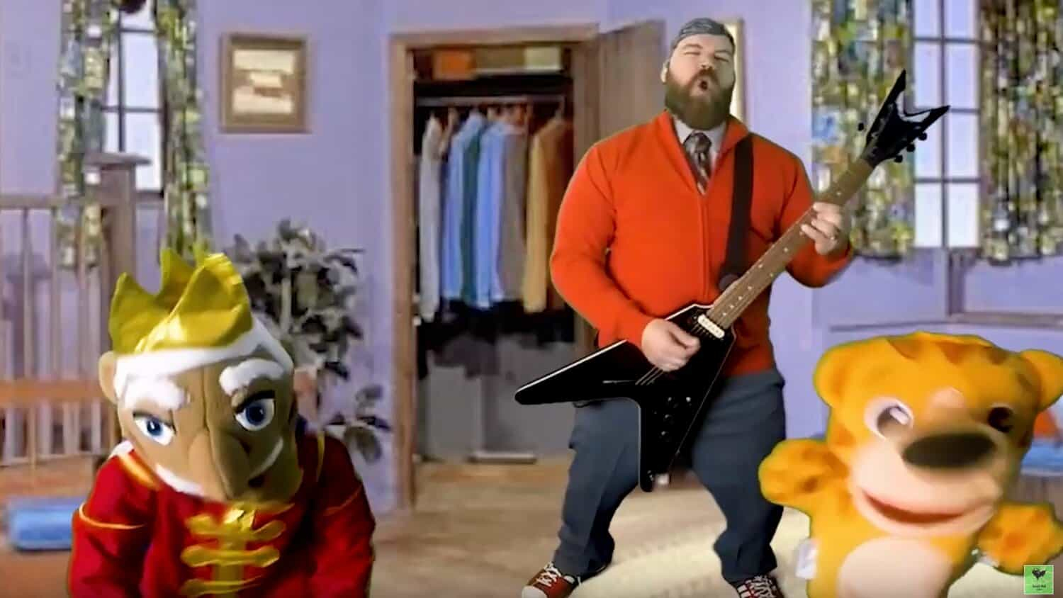This Heavy Metal Cover Of Mister Rogers Theme Song Won T You Be My Neighbor