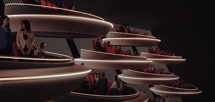 New Movie Theater Design Looks Like The Galactic Senate From Star Wars