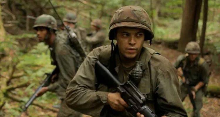 Kit Lang in Battle Scars film