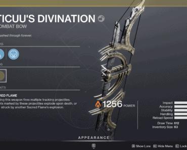 Destiny 2 Ticuu's Divination