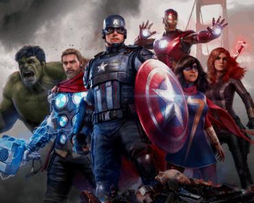 Marvel's Avengers heroes