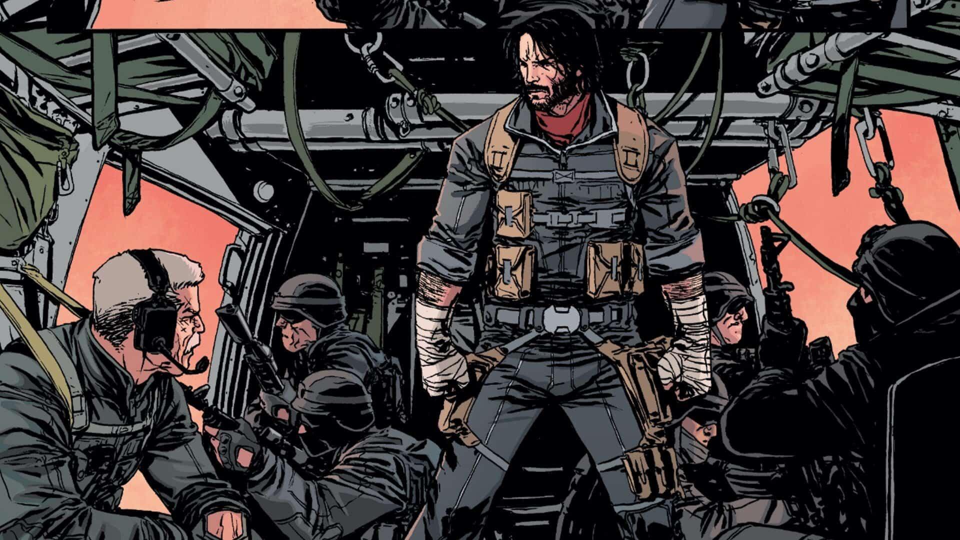 Keanu Reeves bintangi 'live action' komik BOOM Studios buatan dirinya sendiri