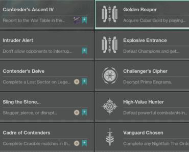 week 4 challenges Destiny 2