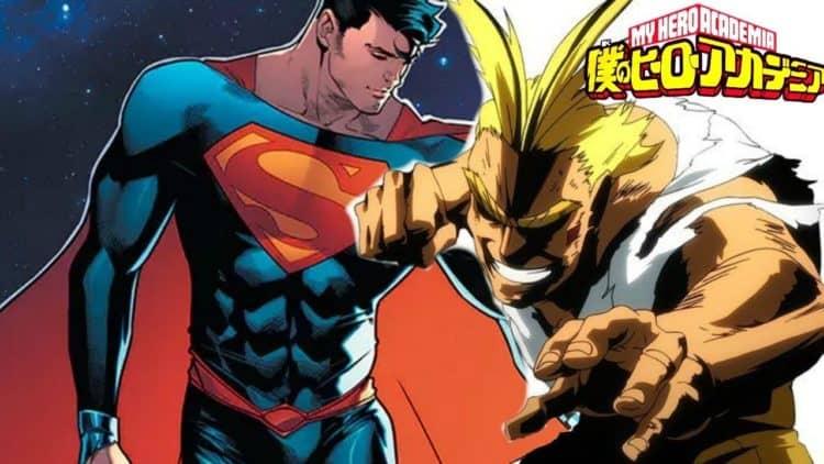 superman vs all might