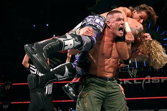 Cena HBK Edge Backlash 2007