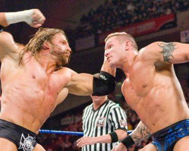 WWE Backlash 2008 Triple H Randy Orton
