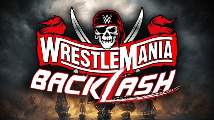 WWE WrestleMania Backlash Key Art Promo