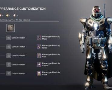 destiny 2 armor hunter