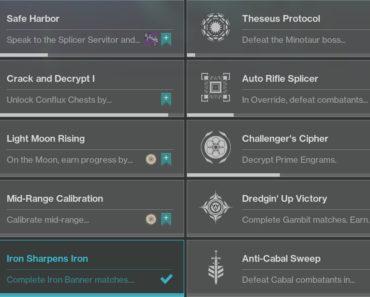 destiny 2 week 2 challenges