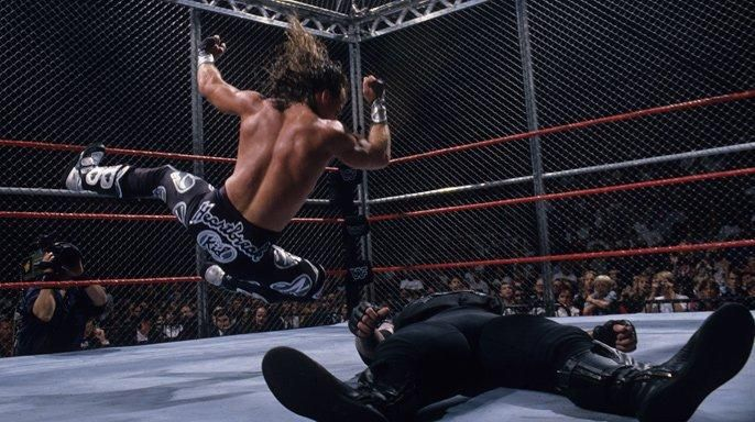 Shawn Michaels vs The Undertaker Hell In A Cell Badd Blood 1997