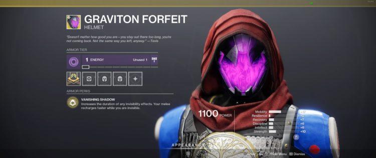destiny 2 hunter helmet