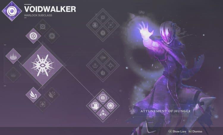 destiny 2 warlock subclass