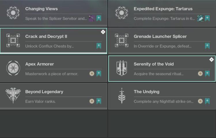 destiny 2 week 5 challenges