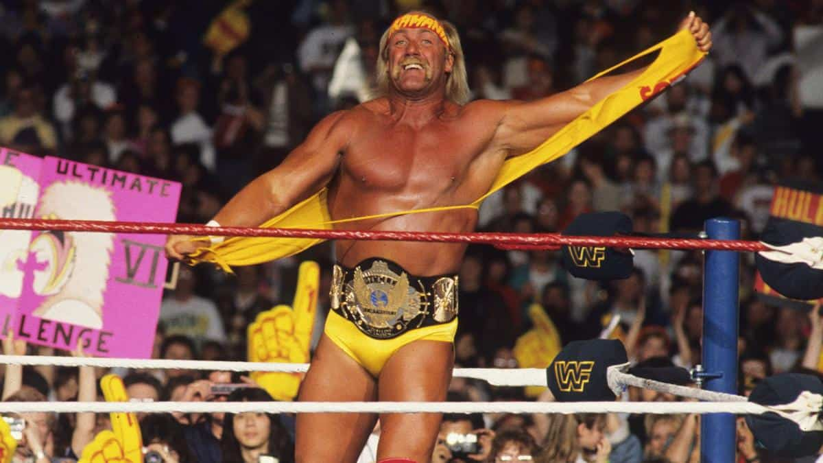 WWE Hulk Hogan WWF Champion
