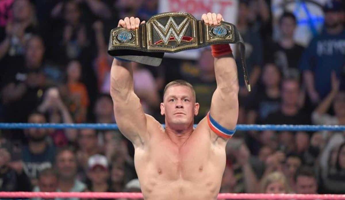 WWE John Cena WWE Championship