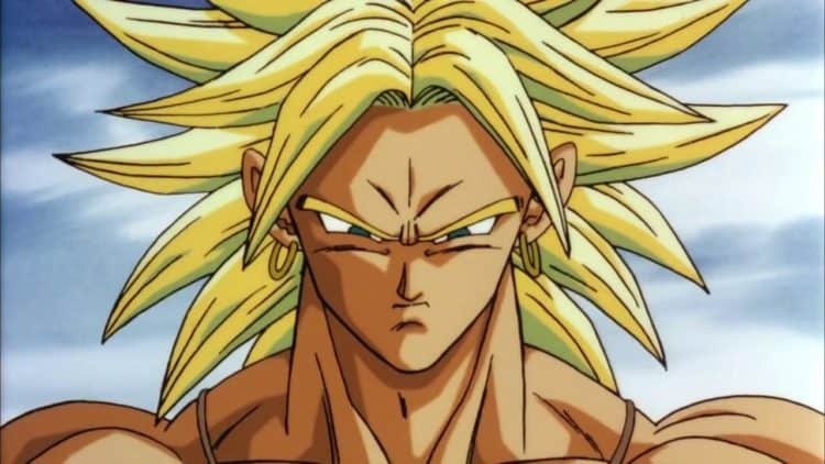 dragon ball z broly second coming